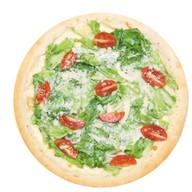 Цезарь de luxe с курицей пицца Фото