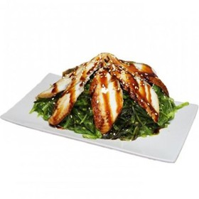 Салат с чуккой и угрем - Фото