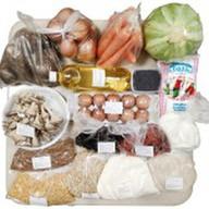 Продовольственная корзина Фото