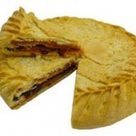 Пирог с курагой и черносливом (за сутки) Фото