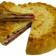 Пирог с брусничным конфитюром (за сутки) Фото