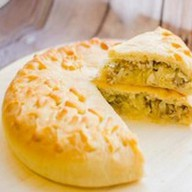 Пирог с капустой и грибами (за сутки) Фото