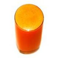 Свежевыжатый морковный сок Фото