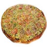 Пицца с колбасой Фото