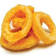 Кольца кальмара с соусом Фото