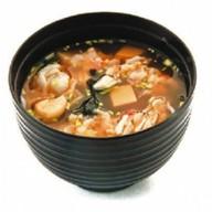 Мисо кимчи острый суп Фото
