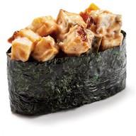 Суши острые с угрём (гункан) Фото