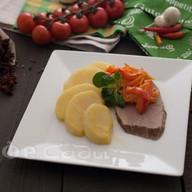 Мясо по-татарски Фото