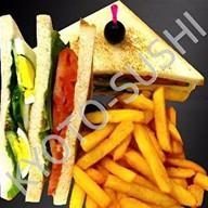 Гравлакс сэндвич Фото