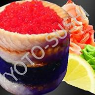 Суши унаги тобико премиум Фото
