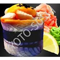 Суши унаги чикен премиум Фото
