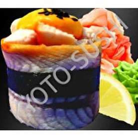 Суши унаги чикен премиум - Фото