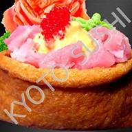 Суши инари спайси магуро Фото