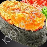 Запеченный гункан табара гани Фото
