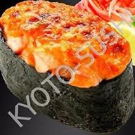 Запеченный гункан сякэ Фото
