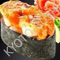 Запеченный гункан курума эби Фото