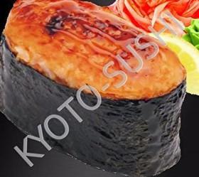 Запеченный гункан хотатэ - Фото