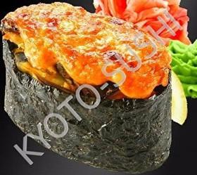 Запеченный гункан кай еси - Фото