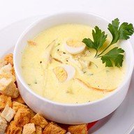 Чеддер суп Фото