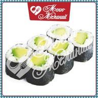 Классический ролл с авокадо Фото