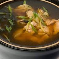 Суп с морским окунем Фото