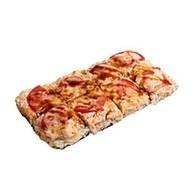 Суши-пицца с морепродуктами Фото