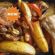 Картофель с курицей гунбао Фото