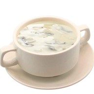 Грибной суп со сливками Фото
