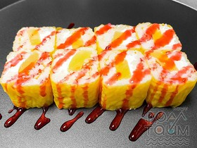 Ролл с ананасами - Фото