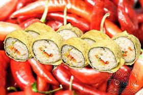 Чили темпура с курицей - Фото