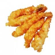 Жареные креветки темпура Фото