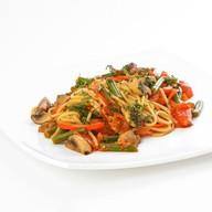 Спагетти вегетарианские Фото
