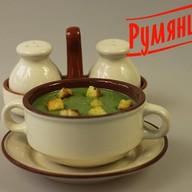 Суп-пюре со шпинатом Фото