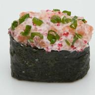 Сливочный Тобико с лососем Фото