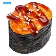 Запеченные суши с тунцом Фото