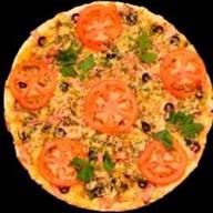 """Пицца """"Бекон с грибами"""" Фото"""