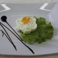Глазунья из одного яйца Фото