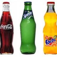 Coca-Cola, Fanta, Sprite Фото