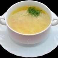 Суп лапша домашняя с курицей Фото