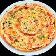 """Пицца """"Отварная говядина со сладким пер Фото"""