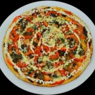 """Пицца """"Шампиньоны с овощами"""" Фото"""