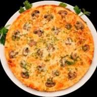 """Пицца """"Шампиньоны с сыром"""" Фото"""