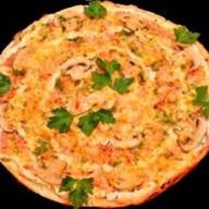 """Пицца """"Шампиньоны свежие с беконом"""" Фото"""