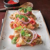 Салат из печеных баклажан Фото