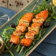 Шашлык из морепродуктов Фото
