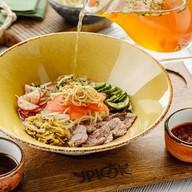 Кукси корейский суп Фото