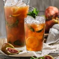 Холодный чай с нижиром и грушей Фото