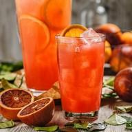 Лимонад красный апельсин с марципаном Фото