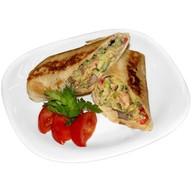 Сэндвич ролл барбекю Фото