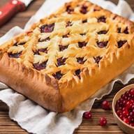 Пирог с клюквой (предзаказ за 1 день) Фото